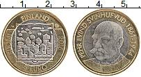 Изображение Монеты Финляндия 5 евро 2016 Биметалл UNC Пьер Эвинд Свинхуфву