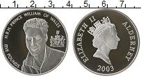 Изображение Монеты Великобритания Остров Джерси 5 фунтов 2003 Серебро Proof-