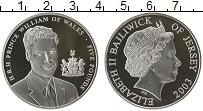 Изображение Монеты Великобритания Остров Джерси 5 фунтов 2003 Серебро Proof