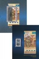 Изображение Подарочные монеты Казахстан Култегин 2016 Серебро Proof `В набор входит моне