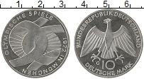 Изображение Монеты Германия ФРГ 10 марок 1972 Серебро UNC-