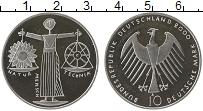 Изображение Монеты Германия ФРГ 10 марок 2000 Серебро UNC-