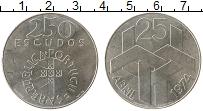 Изображение Монеты Португалия 250 эскудо 1974 Серебро UNC-