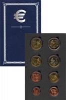 Изображение Подарочные монеты Дания Пробный евро-набор 2003 2003  UNC Подарочный набор про