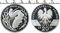 Изображение Монеты Польша 20 злотых 1995 Серебро Proof Сом