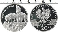 Изображение Монеты Польша 20 злотых 1999 Серебро Proof