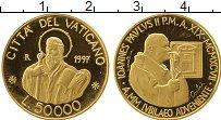 Изображение Монеты Европа Ватикан 50000 лир 1997 Золото Proof-