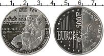 Изображение Монеты Бельгия 500 франков 2000 Серебро Proof- Альберт  и  Изабелла