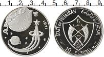 Изображение Монеты ОАЭ Фуджейра 10 риалов 1971 Серебро Proof-