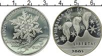 Изображение Монеты Европа Сан-Марино 5 евро 2005 Серебро Proof-