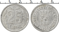 Изображение Монеты Европа Франция 25 сантим 1921 Алюминий VF