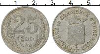 Изображение Монеты Франция 25 сантим 1922 Алюминий VF