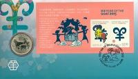 Изображение Подарочные монеты Австралия 1 доллар 2015  UNC