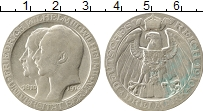 Изображение Монеты Германия Пруссия 3 марки 1910 Серебро VF