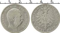 Изображение Монеты Саксония 2 марки 1876 Серебро VF