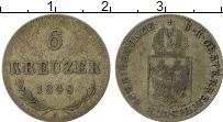 Изображение Монеты Австрия 6 крейцеров 1848 Серебро VF