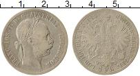 Изображение Монеты Европа Австрия 1 флорин 1886 Серебро VF