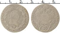 Изображение Монеты Австрия 20 крейцеров 1815 Серебро VF Франц I