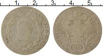 Изображение Монеты Австрия 20 крейцеров 1806 Серебро XF- Франц II (следы юсти