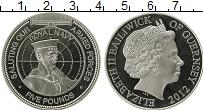 Изображение Монеты Гернси 5 фунтов 2012 Серебро Proof Королевская навигаци