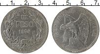 Изображение Монеты Южная Америка Чили 1 песо 1896 Серебро VF