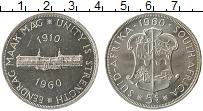 Изображение Монеты Африка ЮАР 5 шиллингов 1960 Серебро UNC-