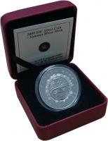 Изображение Подарочные монеты Канада 20 долларов 2009 Серебро Proof Маска Луны. Серебро