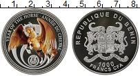 Изображение Монеты Африка Бенин 1000 франков 2014 Серебро Proof