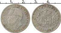 Изображение Монеты Португальская Индия 1/2 рупии 1881 Серебро XF-