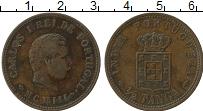Изображение Монеты Португальская Индия 1/2 таньга 1903 Бронза XF Карлос I