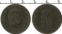 Изображение Монеты Португальская Индия 1/4 таньга 1901 Бронза VF