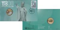 Изображение Подарочные монеты Австралия Международный день молодёжи 2008  UNC