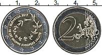Изображение Мелочь Словения 2 евро 2017 Биметалл UNC 10-я годовщина евро