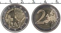 Изображение Мелочь Эстония 2 евро 2016 Биметалл UNC Пауль Керес. Приблиз