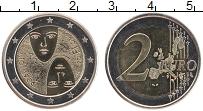 Изображение Мелочь Финляндия 2 евро 2006 Биметалл UNC- 100-летие равного из