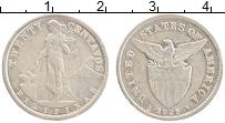 Изображение Монеты Филиппины 20 сентаво 1929 Серебро XF Америка