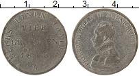 Изображение Монеты Пруссия 4 гроша 1818 Серебро VF 1816-1818,Фридрих Ви