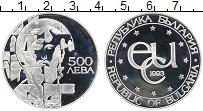 Изображение Монеты Болгария 500 лев 1993 Серебро Proof-