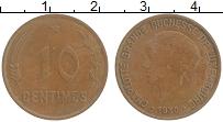 Изображение Монеты Люксембург 10 сантим 1930 Бронза XF