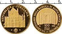 Изображение Монеты Европа Италия 100000 лир 1995 Золото Proof-