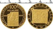 Изображение Монеты Европа Италия 100000 лир 2000 Золото Proof-