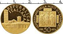 Изображение Монеты Европа Италия 50000 лир 1997 Золото Proof-