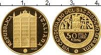 Изображение Монеты Италия 50000 лир 1996 Золото Proof-