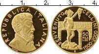 Изображение Монеты Европа Италия 50000 лир 2000 Золото Proof-