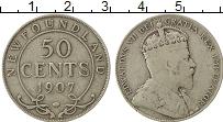 Изображение Монеты Ньюфаундленд 50 центов 1907 Серебро XF-