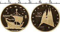 Изображение Монеты Италия 50 евро 2009 Золото Proof