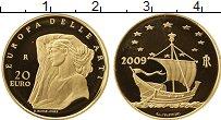 Изображение Монеты Европа Италия 20 евро 2009 Золото Proof