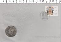 Изображение Подарочные монеты Португалия 100 эскудо 1986 Медно-никель UNC Букет цветов.<br>Ко