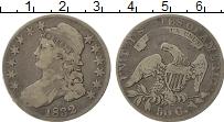 Изображение Монеты Северная Америка США 50 центов 1832 Серебро XF