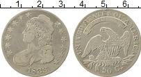 Изображение Монеты США 50 центов 1833 Серебро XF